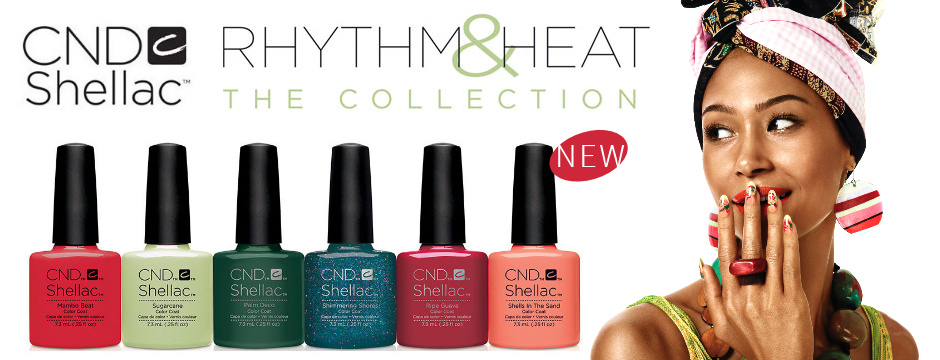 New CND Rhythm and Heat Collection