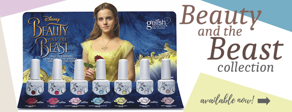 NEW Gelish Beauty and The Beast Collection